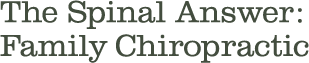 The Spinal Answer Logo